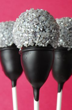 Microphone cake pops | Flickr - Photo Sharing!