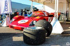 #Ferrari #512S dans les paddocks de #Dijon_Prenois au #GPAO Article original : http://newsdanciennes.com/2015/06/07/news-danciennes-au-grand-prix-de-lage-dor/ #Racecar #VintageCar #ClassicCar