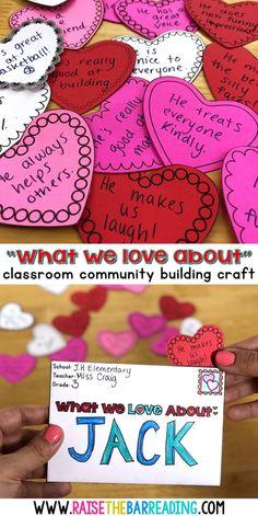 Valentine's Day Craft - Teaching blog post