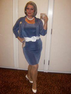 Me as Malory Archer, DragonCon 2012 debut.