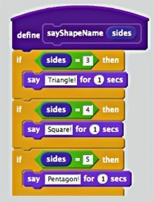 Intermediate Level Projects with Scratch: Random Shapes On Demand! | Edutopia
