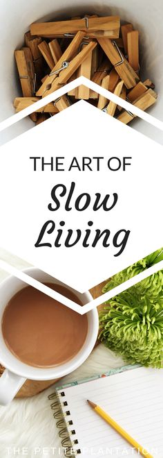 I think Slow Living is a lifestyle of completing the necessary everyday tasks in a slow, mindful and intentional way limiting stress and co...