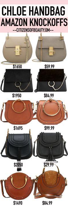 CHLOE Handbag Knockoffs that are all under $100