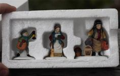 "Dept 56 ""Come Into The Inn"" Set of 3 Heritage Village Collection"