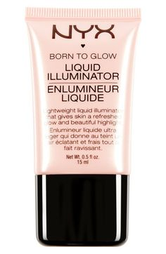 NYX 'Born to Glow' Liquid Illuminator. wanna try this, much cheaper that watts up!
