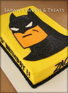 Batman Cake | Sarah's Sweets & Treats