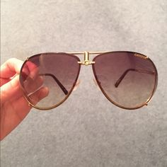 Brand new Carrera sunglasses Brand new, never worn Carrera sunglasses. Perfect condition, no scratches or any sign of wear. Classic gold aviator style! Carrera Accessories Sunglasses