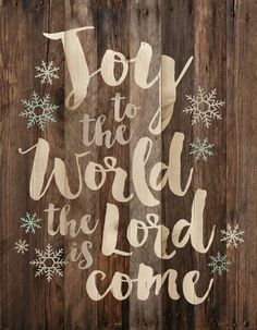 Joy to the world Christmas Wall Decor Wall sign, perfect for your Christmas holiday celebrations - measures 12 x - rustic, weathered designs - canvas made from lath-thin, narrow strips of wood - sawtooth hanger included Christmas Wall Art, Christmas Quotes, Christmas Signs, Outdoor Christmas, Christmas Balls, Christmas Pictures, Rustic Christmas, Vintage Christmas, Christmas Holidays
