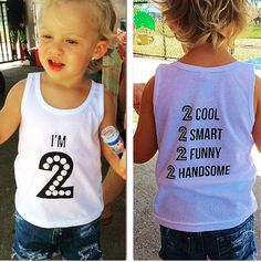 Explore boys birthday tshirts and tees with funny sayings at http://www.citizenbeachapparel.com/product/im-2-kids-graphic-tee-tank-or-raglan/ | Kids Fashion