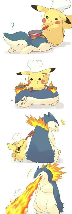 La aventura de Pikachu en la cocina Jajaja - Funny Pokemon - Funny Pokemon meme - - La aventura de Pikachu en la cocina Jajaja The post La aventura de Pikachu en la cocina Jajaja appeared first on Gag Dad. Pokemon Mew, Anime Pokemon, Pokemon Funny, Pokemon Fan Art, Pokemon Fusion, Pokemon Stuff, Pokemon Cards, Cute Comics, Funny Comics