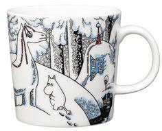 Snowhorse Moomin mug Winter 2016 from Arabia by Tove Jansson, Tove Slotte Moomin Shop, Moomin Mugs, Scandinavian Interior Design, Nordic Design, Les Moomins, Moomin Valley, Tove Jansson, Helsinki, The Book