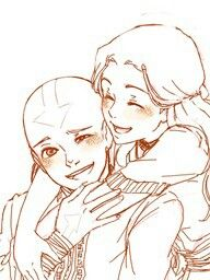 This is cute, regardless of the fact that I still wish Zutara had happened instead.