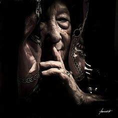 Do you want to learn from an elder's Wisdom? There is only one way. Open your eyes and ears, close your mouth, go to the source... watch and listen. Silence is the only way to hear wisdom and Respect is the only key that opens to door. ...Carol