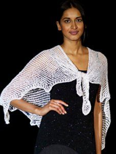 Free knitting pattern: Sparkleberry Shawl. Discover an elegant pattern that's straight from the STITCHES Midwest runway.