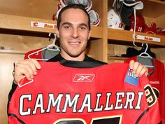 Mike Cammalleri played at The University of Michigan University Of Michigan, Calgary, Nhl, Hockey, Beautiful People, College, Sports, Hs Sports, University