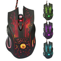 Balzer The Gamer - LED Optical 6D USB Wired Gaming Pro Gamer Mouse
