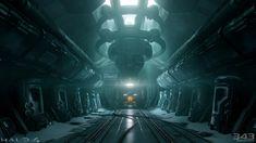 Forward Unto Dawn Cryo Chamber (Halo 4), Paul Pepera on ArtStation at https://www.artstation.com/artwork/85G