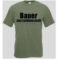 T-Shirt Bauer aus Leidenschaft  Das Bauer T-Shirt ist in den Größen S-3XL erhältlich. Auf dem T-Shirt ist der Schriftzug Bauer aus Leidenschaft abgebildet. / mehr Infos auf: www.Guntia-Militaria-Shop.de