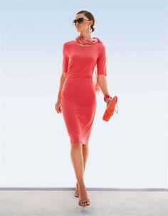 Dress in colour melon