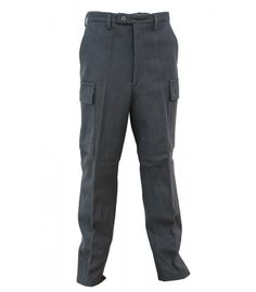 """The most incredible wool pants we have ever found! You can finally """"Finnish"""" your search for the ultimate, highest quality wool pants ever made. Heavy duty wool, but very soft to the touch. Navy Store, Military Surplus, Army & Navy, Buckle Boots, Wool Pants, Cargo Pants, How To Look Better, Trousers, The Incredibles"""