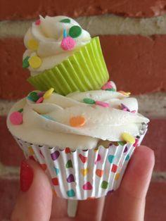 Confetti Party Cupcakes