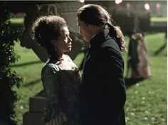 "Nothing like a little romance to spice up your Wednesday! Gugu Mbatha-Raw as ""Dido"" and Sam Reid as ""John Davinier"" in Amma Asante's BELLE Belle Movie, Movie Tv, Sam Reid, Toronto Film Festival, Matthew Goode, Between Two Worlds, Movies 2014, Romance, Interracial Love"
