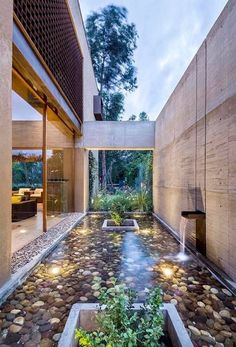courtyard :: #home #design