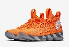 867e3a2944741 Real Nike LeBron 15 Orange Box AR5125-800 - Mysecretshoes Sneaker Bar