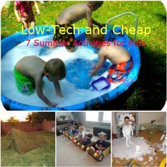 Summer fun for kids on the cheap...