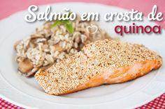 Eu amo frutos do mar e aqui na minha cidade temos uma grande variedade. Um dos peixes preferidos é o salmão, por ser nutritivo, saboroso e de fácil preparo. Gosto de combinar com legumes, salada, c…