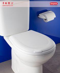 ¡Buenos días, vamos a por el Lunes! 😃 ¿Conocéis las ventajas de nuestras #tapas #wc higiénicas?  🚽 No favorece la proliferación de bacterias 🚽 Cierre lento para evitar golpes y accidentes 🚽 Fácilmente extraíble para una limpieza e higiene total del #inodoro y la tapa Nuestros tipos de Tapas WC ➡ http://toyma.com/catalogo/bano/tapas-wc-id1017