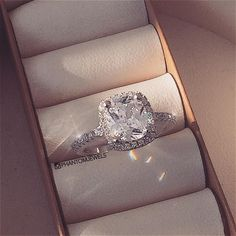 Ice Ice baby with our Femme Fatale Cushion Cut Ring by Phantom Jewels