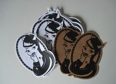 Cartoon Type Sticker Design