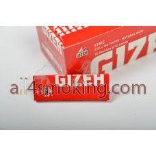 Cod produs: Foite Gizeh (rosu) Disponibilitate: În Stoc Preţ: 0,80RON  Foite Gizeh (rosu).Foitele sunt albe.  Cantitate 50 foite FINE(17.5 g/m).  Natural gum.