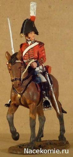 Officer, British 5TH Dragoon Guards, 1812 Del Prado: Cavalry of the Napoleonic Wars