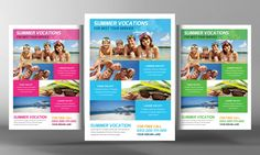 Tour Travel Flyer Template by Business Templates on @creativemarket
