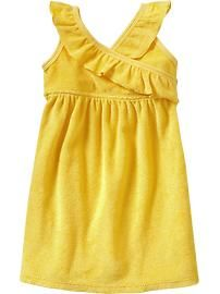 Ruffled Terry Swim Cover-Ups for Baby