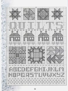 Gallery.ru / Фото #1 - Cross Stitch Crazy About Quilts - 58savinkina