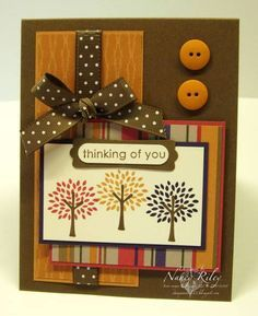 MTSC32 AUTUMN TRADITIONS TRENDY TREES by stampinat6213 - Cards and Paper Crafts at Splitcoaststampers