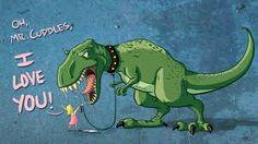 Cuddles T-Rex wallpaper Dinosaur Background, Cartoon Background, Cartoon Dinosaur, Dinosaur Funny, T Rex Cartoon, Dinosaur Pics, Dinosaur Art, Love Wallpaper, Cartoon Wallpaper