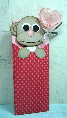 Punched Monkey Petite Pocket  Stampin' Up!