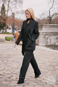 Все тренды весна-лето 2019 в одном посте – Woman Delice Cool Street Fashion, Street Style Women, Paris Fashion, Autumn Fashion, Fashionista Street Style, Suits Tv Shows, Paris Girl, Androgynous Fashion, Suits For Women