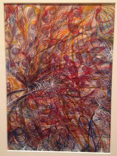 Georgiana Houghton, Spirit drawing