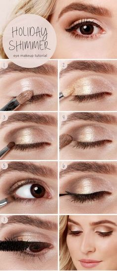 20 hermoso maquillaje para ojos marrones Best Makeup Tutorials, Make Up Tutorials, Makeup Tutorial For Beginners, Best Makeup Products, Beauty Products, Eyeshadow Tutorials, Nyx Products, Contouring Products, Beauty Tutorials
