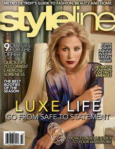 RGA model Chelsea Smith in StyleLine Magazine