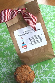 Gourmet Oatmeal Cookie Mix In A Jar