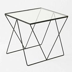 An Eye-Catching Diamond Side Table via @domainehome