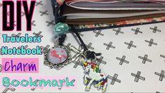 DIY Travelers Notebook Bookmark Charm. Custom Unicorn Pendant Charm | I'm A Cool Mom