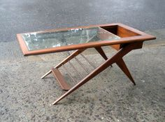 Mesa ratona escandinava #midcentury #retro #furniture #danish