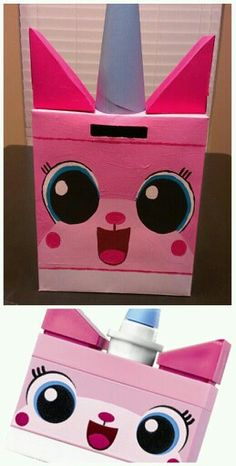 unikitty valentine box for jordyn - Valentine Boxes For Girls